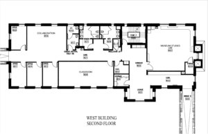Anne Arundel Hall West Building First Floor Plan