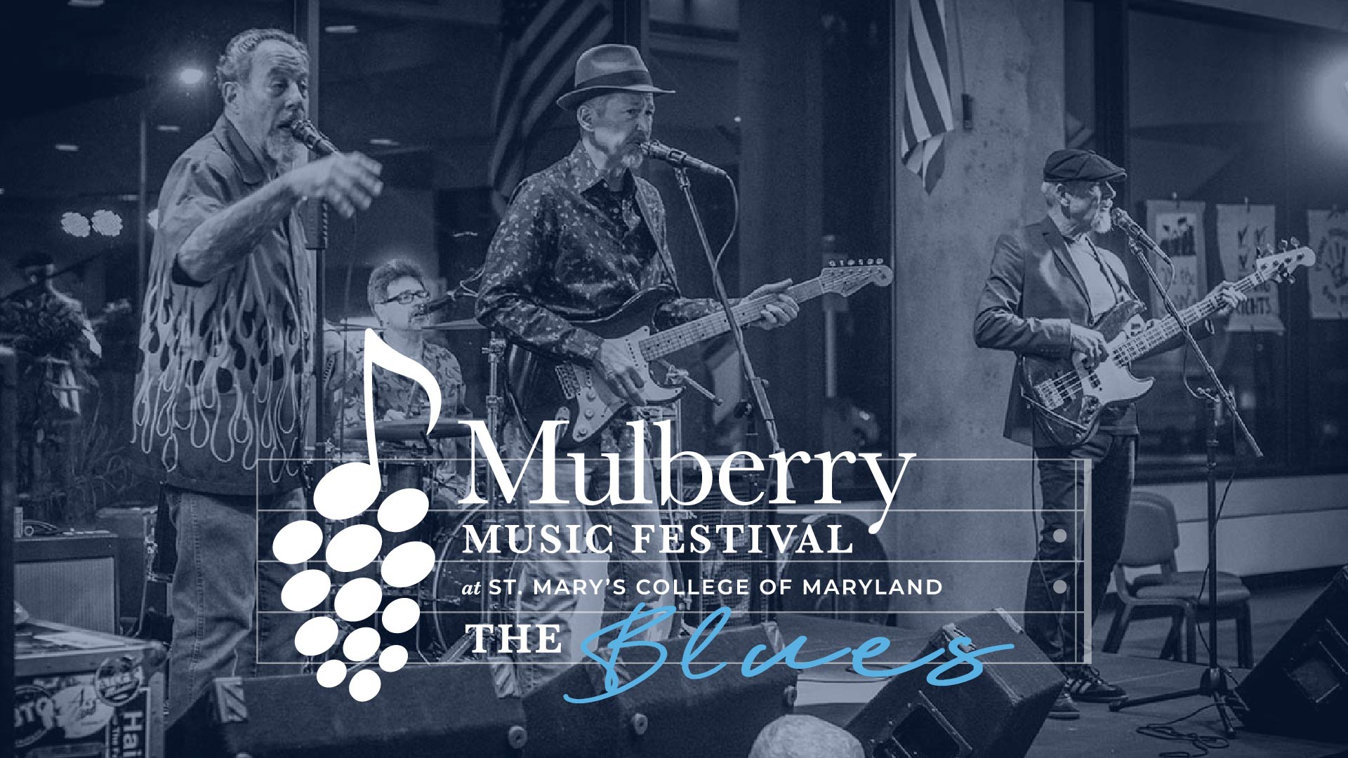 Mulberry Music Festival, at St. Mary's College of Maryland, presents The Blues