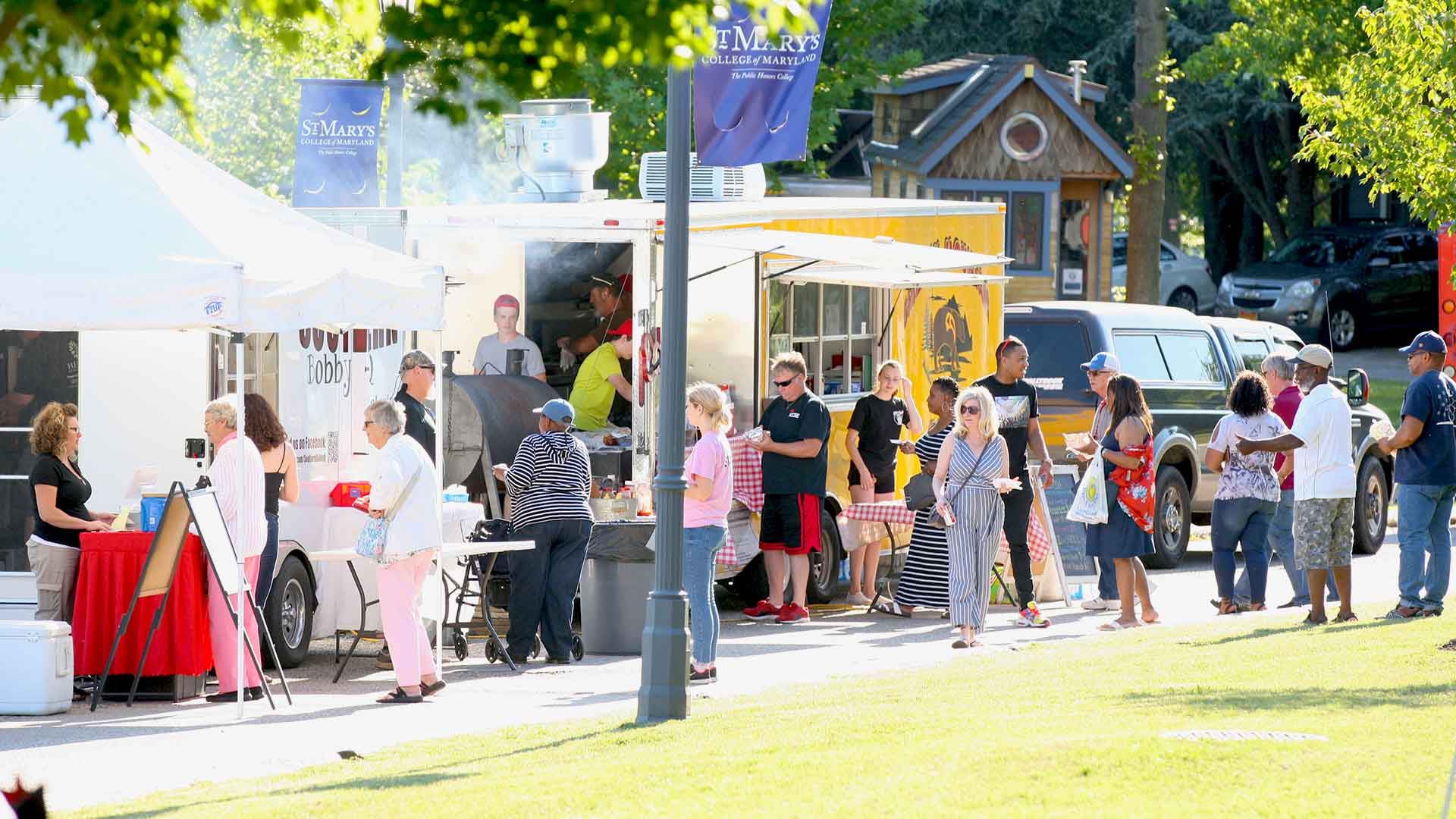 Local vendors at the 2019 Mulberry Music Festival