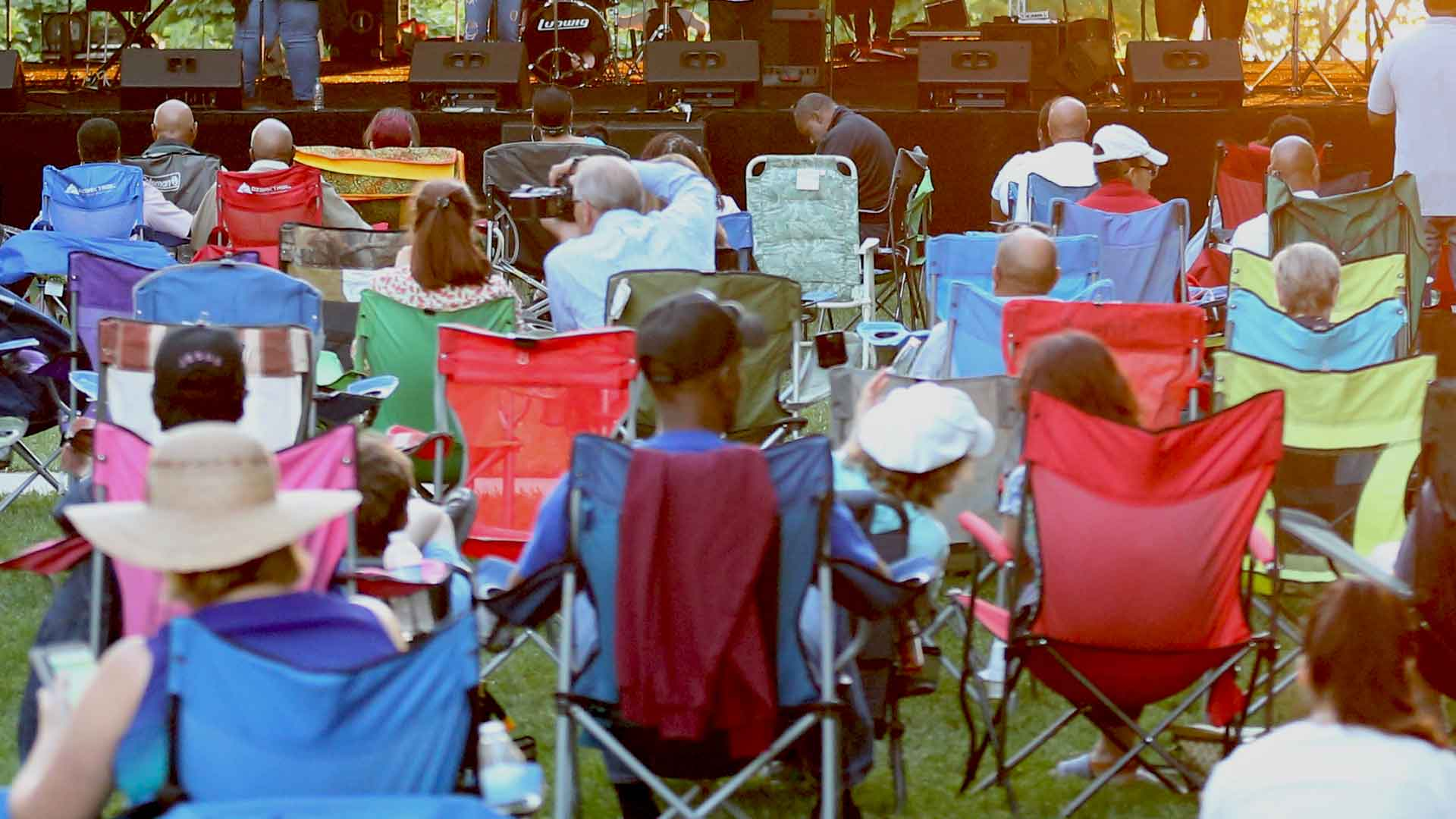 What to bring to an outdoor concert