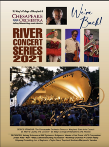 Cover of the River Concert Series 2021 Program