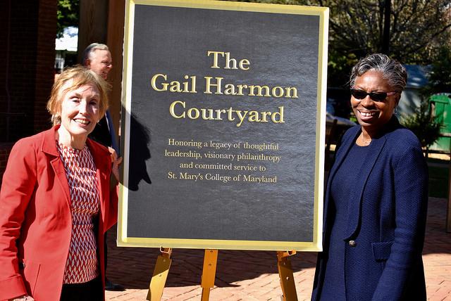 President Tuajuanda Jordan and Gail HArmon