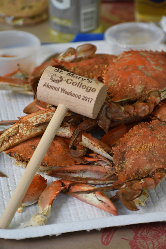 Alumni Weekend Crabs and Knocker