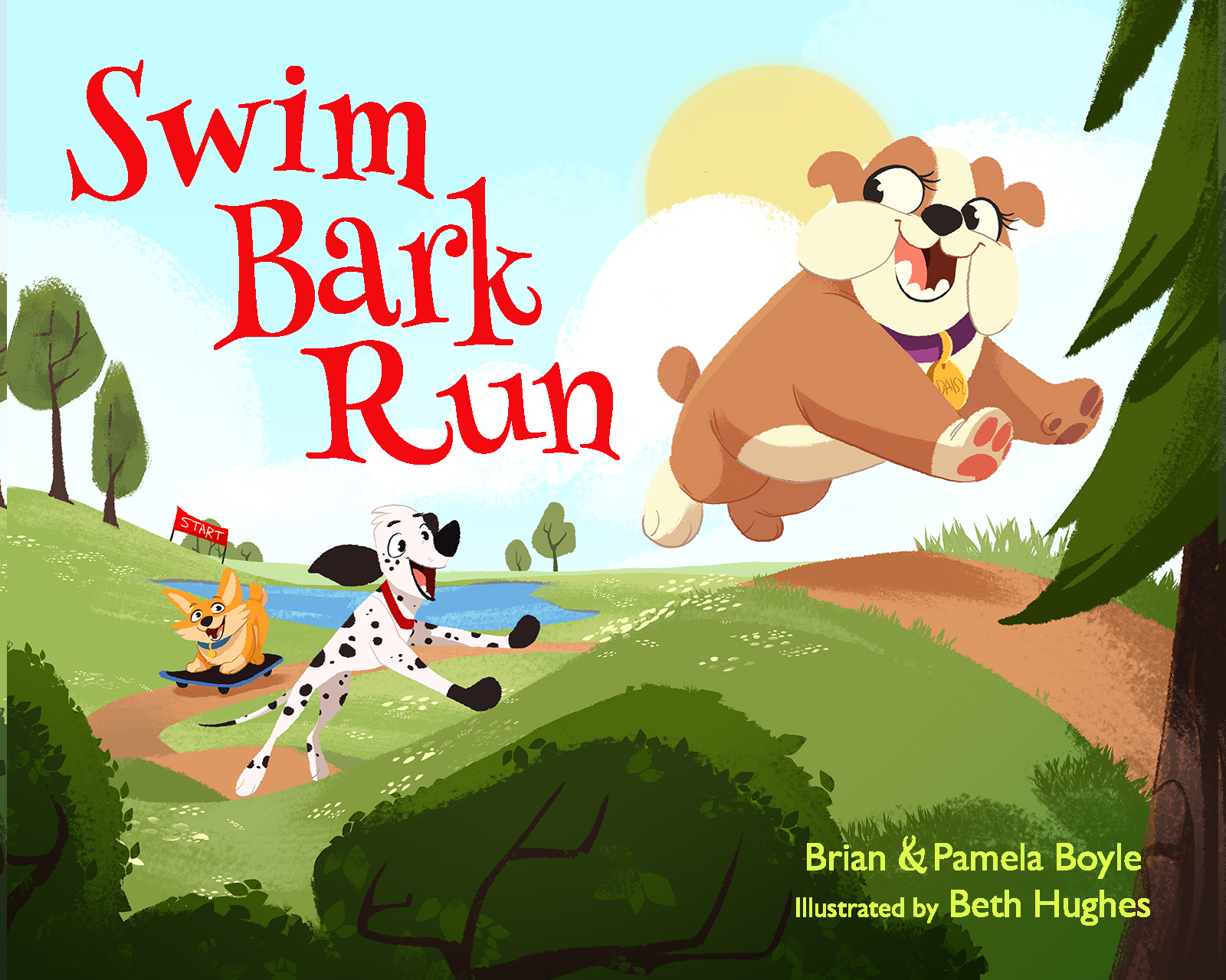 Swim Bark Run book cover art